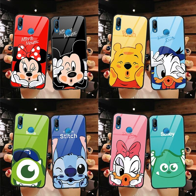 Tempered Glass Case For Huawei P9 P10 Plus P20 P30 P Smart Mate ...