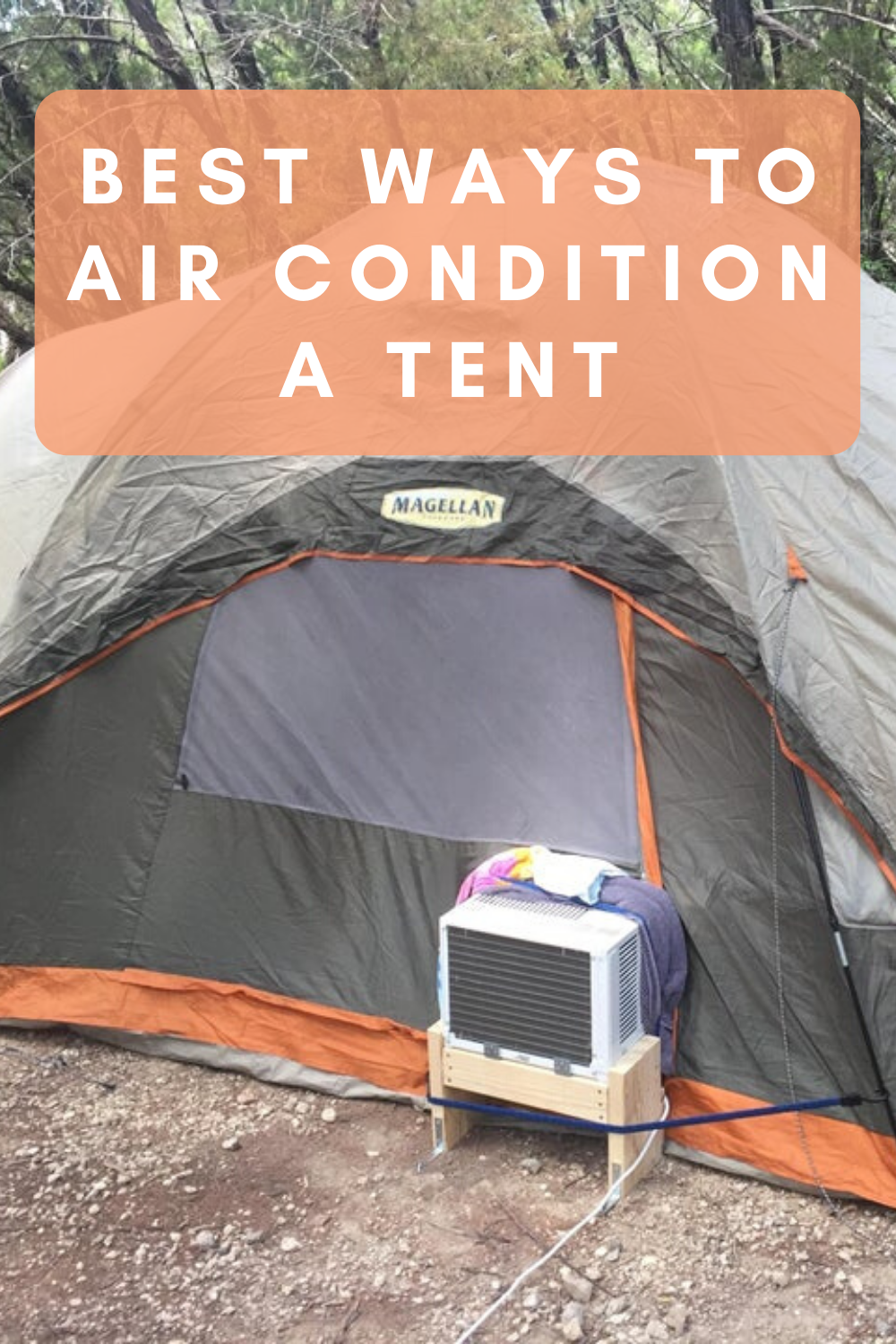 Tents with AC Ports and How to Air Condition a Tent
