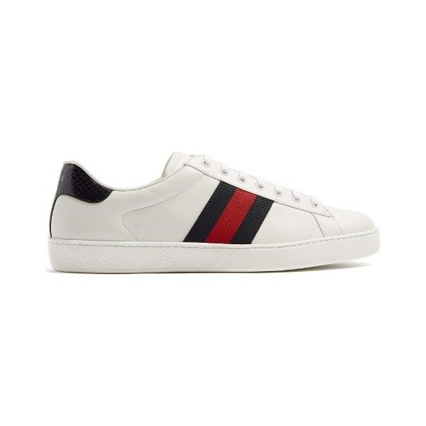 7667f19f421 Gucci New Ace low-top leather trainers (27