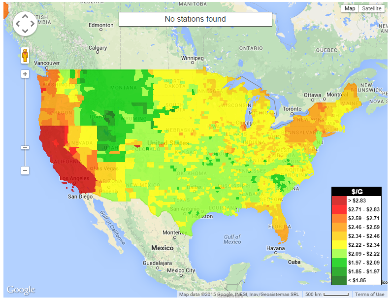 Fiery Red Gas Prices to Spike Across US During Next Two
