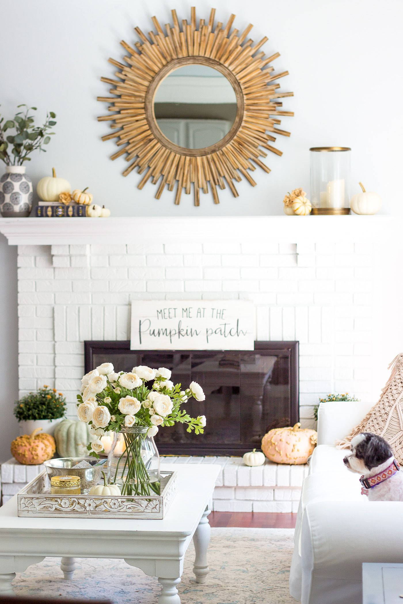 Autumn Living Room Tour Shining On Design Blog Home Decor