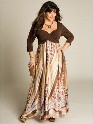 All maxi dresses in plus size
