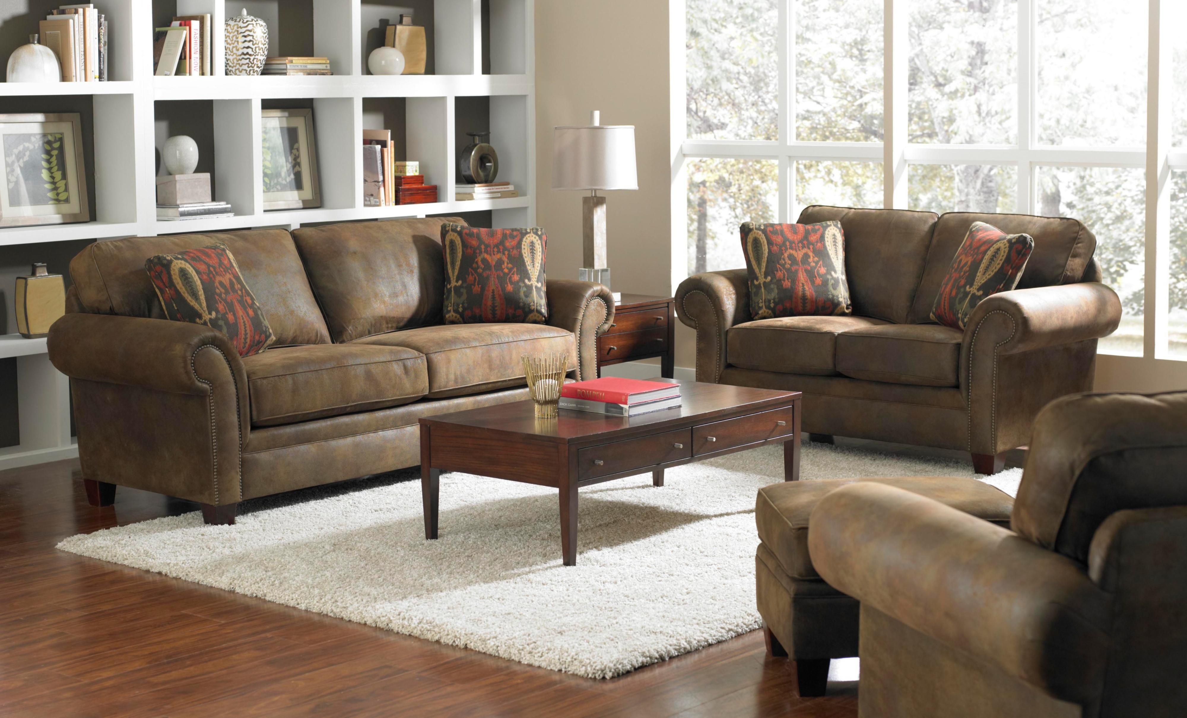Broyhill Furniture Travis Stationary Living Room Group   Hudsonu0027s Furniture    Upholstery Group Tampa, St
