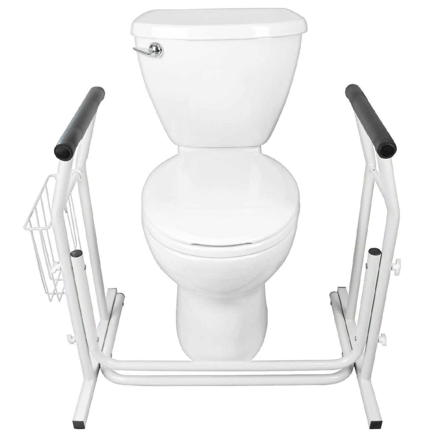 Stand Alone Toilet Rail by Vive - Medical Bathroom Safety Assist ...
