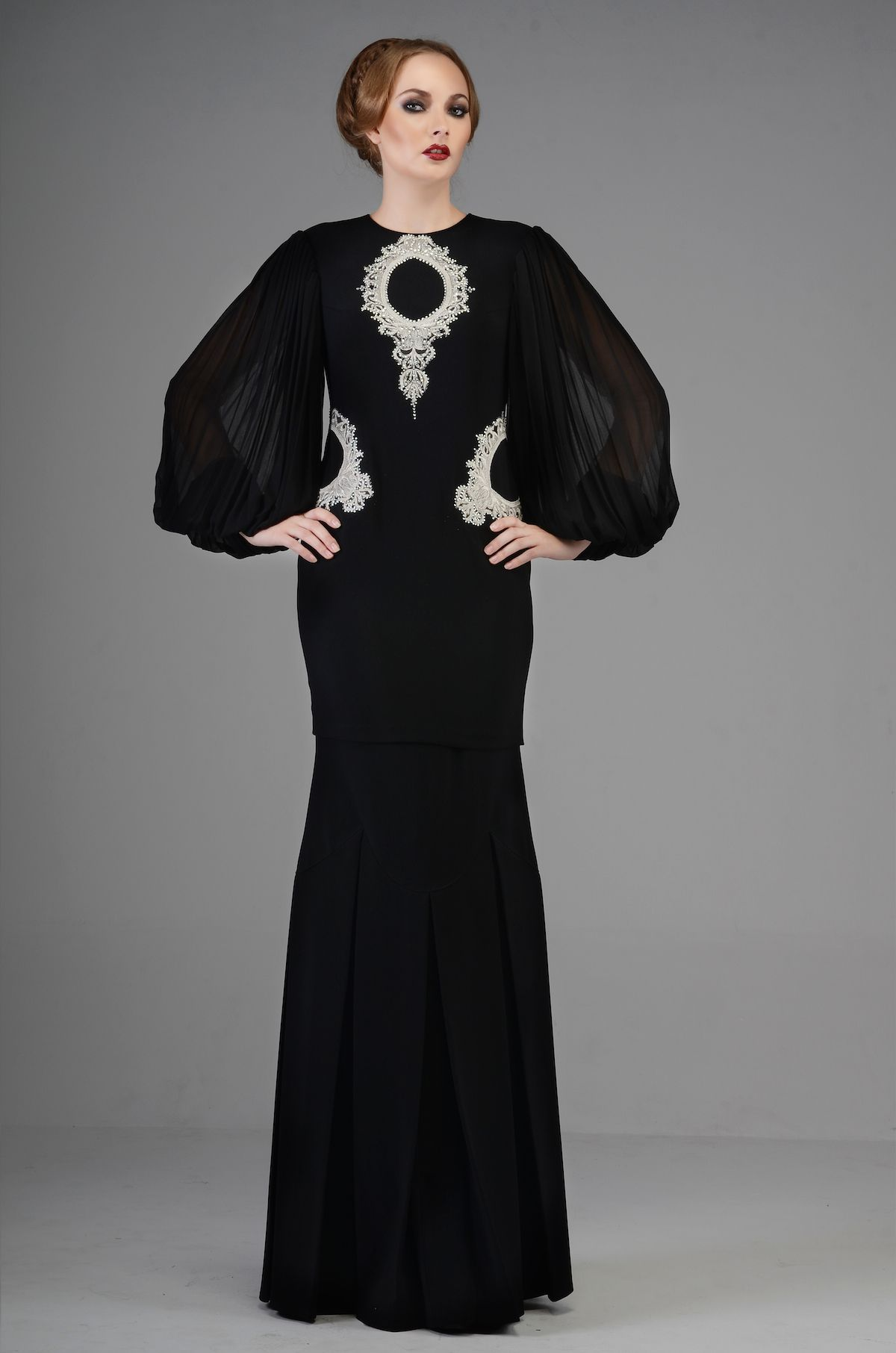 Highness Raya look 7 by Rizman Ruzaini | Kebaya & Baju ...