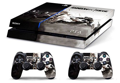 Skin PS4 HD RAINBOW SIX SIEGE limited edition Playstation 4
