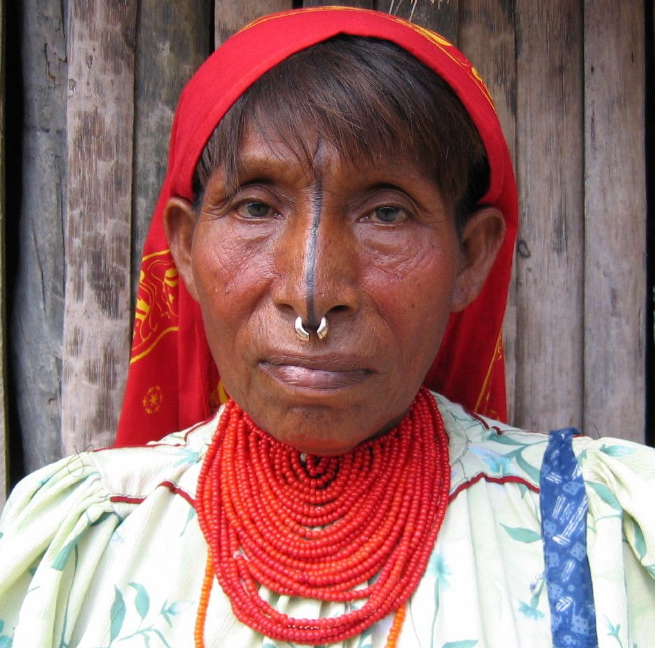 Kuna Panama Zuid amerika, Mensen, Amerika