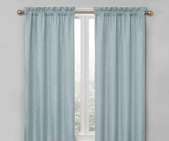Living Colors Bergen Blackout Curtain Panel Pairs Panel Curtains