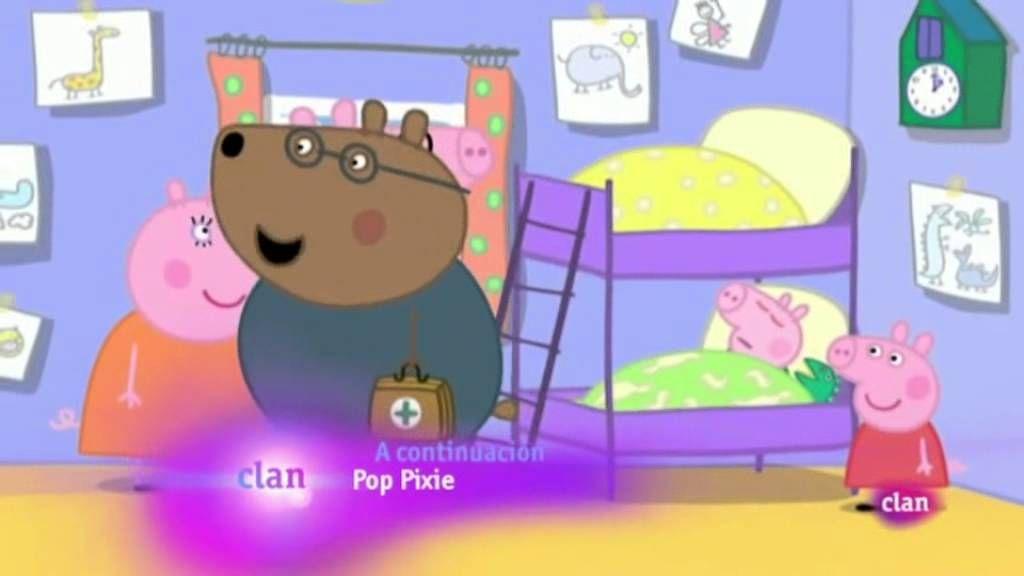 El catarro de George- Peppa Pig