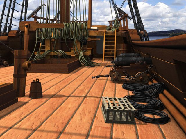 pirate ship upper deck - Google Search | Shack reference ...