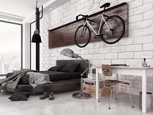 Schlafzimmer Deko Mann Schlafzimmerrenovierung Wg Zimmer Loft Stil