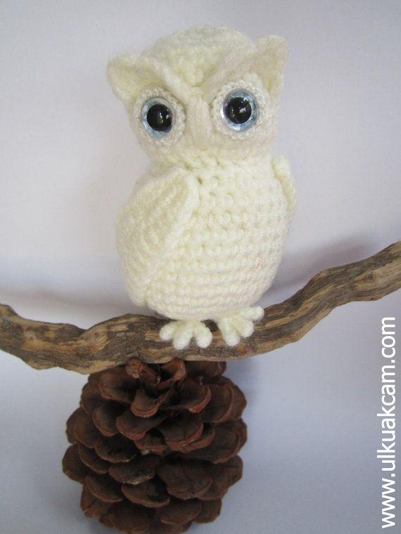 Amigurumi Snowy Owl Pattern | macrame | Pinterest | Ganchillo ...