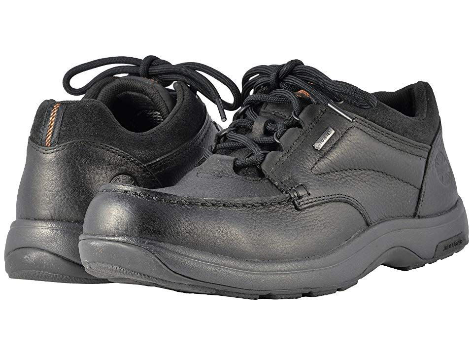 ec616786a9 Dunham Exeter Low Gore-Tex(r) Waterproof (Black) Men s Lace up casual Shoes.  The Dunham Exeter Low has a stylish exterior worthy of a rough wear on any  ...