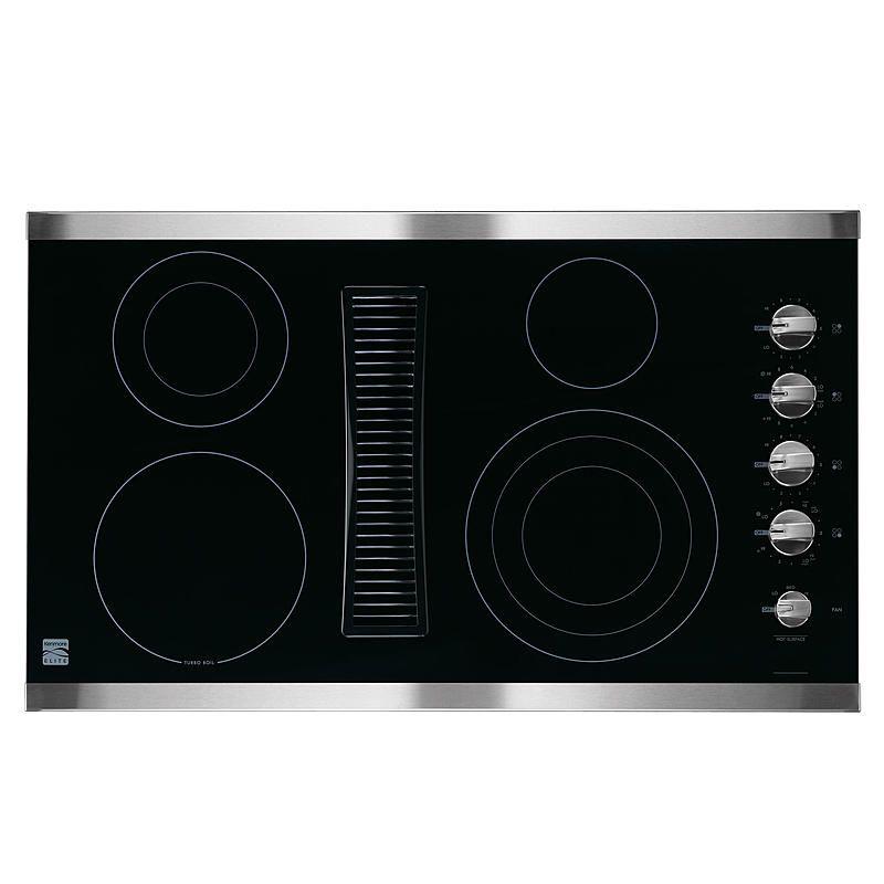 Kenmore elite 44123 36 downdraft electric cooktop