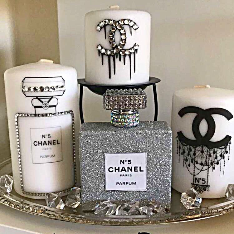 Cute Chanel Home Decor With A Little Bling Get Inspired