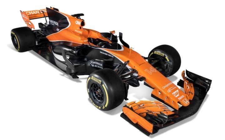McLaren-Honda front angle