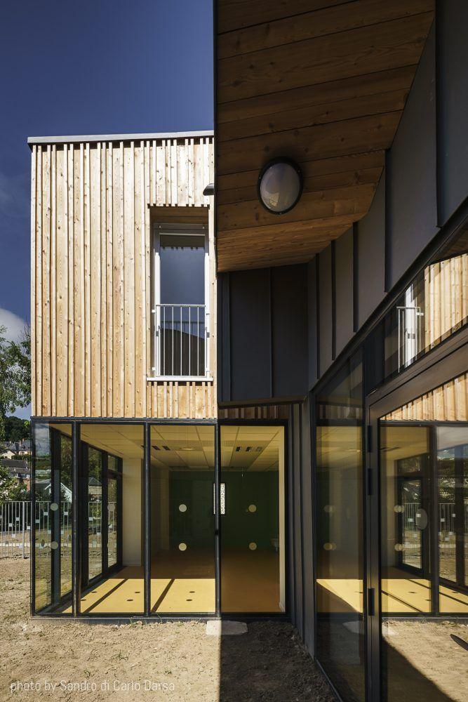 Construction Ossature bois Caudebec 4 La maison Pinterest