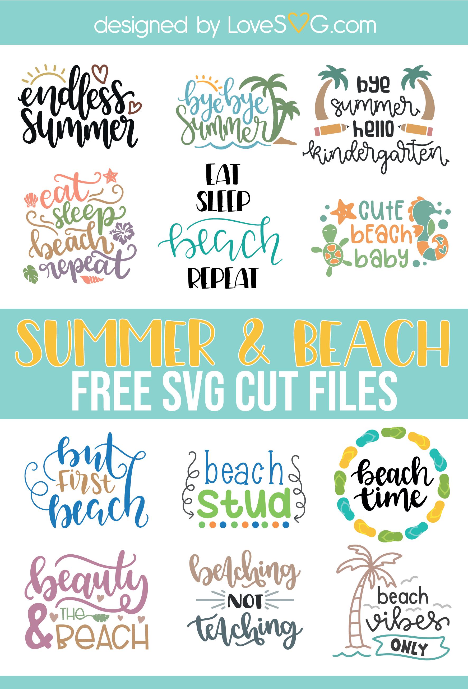 Pin on Free Summer SVG Cut File