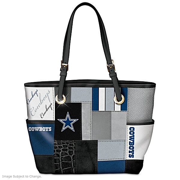 For The Love Of The Game Dallas Cowboys Tote Bag  0824d10e9