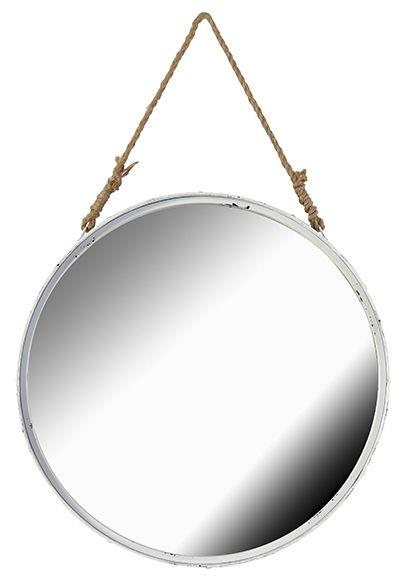 Espejo decorativo redondo cuerda ref 17851981 leroy - Leroy merlin espejo de pie ...