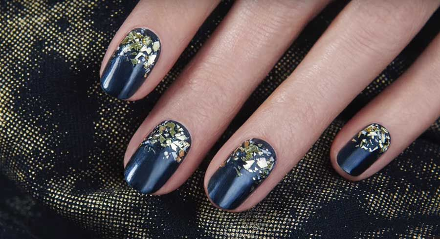 Sephora Tv Presents Midnight Jazz Nail Art How To By Jinsoon