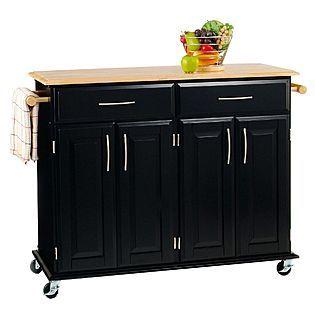 Sears Rolling Kitchen Island Cart  Kitchen  Pinterest  Rolling Amazing Rolling Kitchen Chairs Inspiration Design