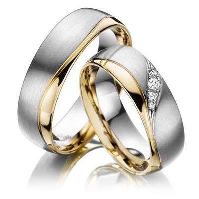 7b3f42a35b707 Resultado de imagen para aros de matrimonio oro y plata 2016