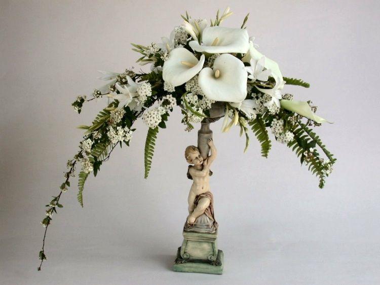 compositions florales 77 id es pour la d co avec des fleurs ikebana pinterest. Black Bedroom Furniture Sets. Home Design Ideas