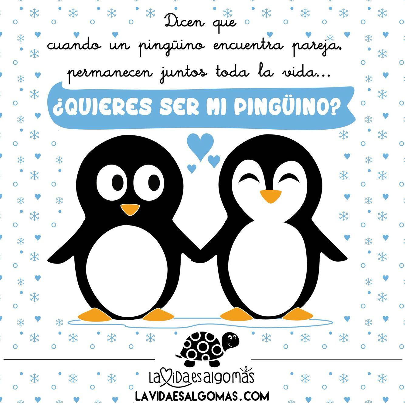 Quieres Ser Mi Pinguino Buenos Dias A Por El Jueves