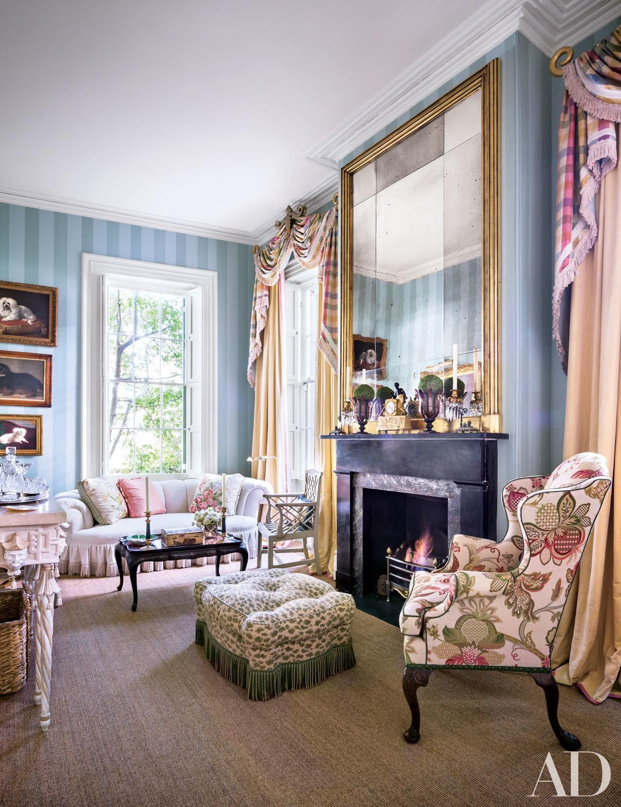 Decorator Mario Buatta Gives These 6 Interiors His Signature Style