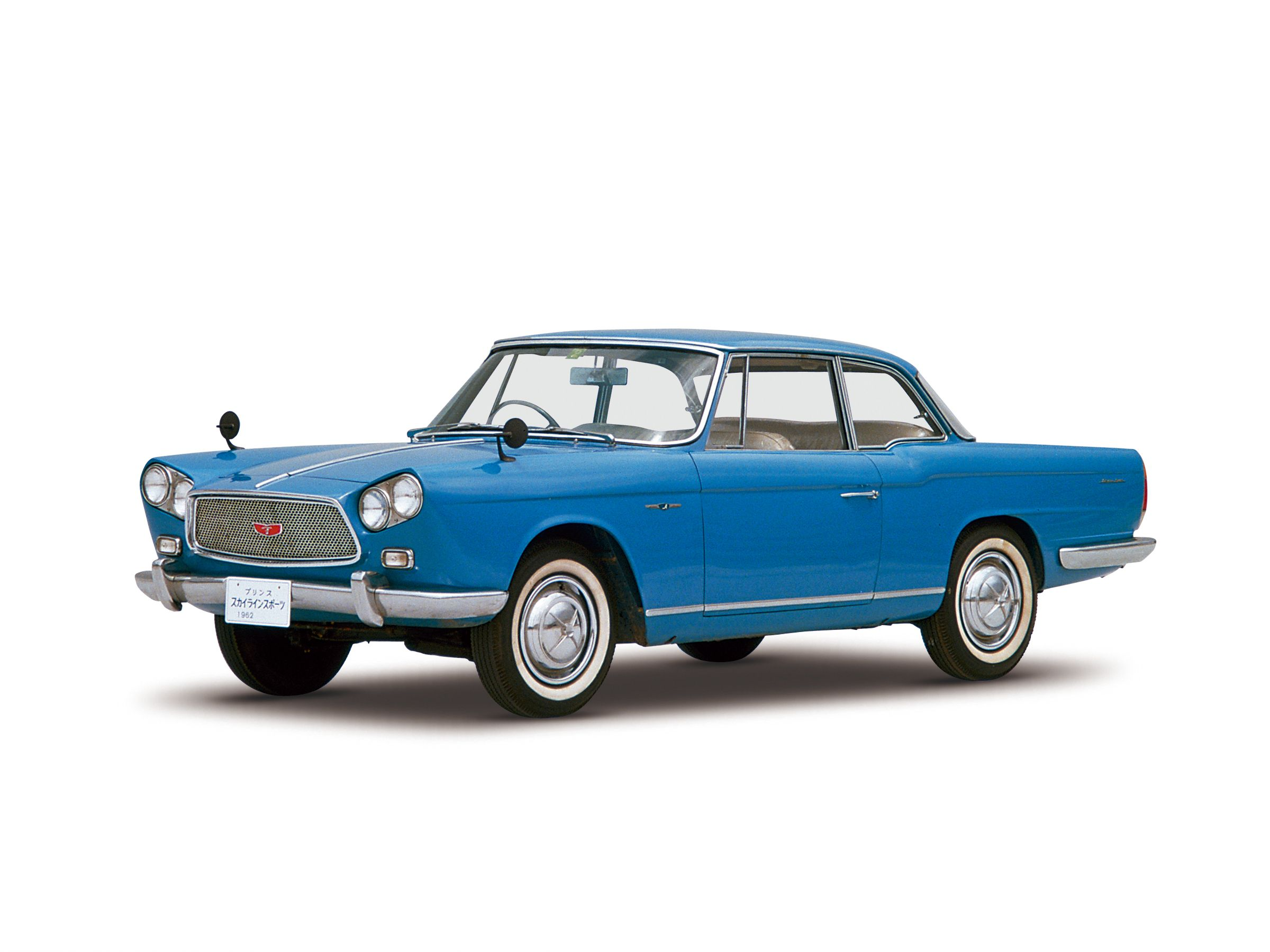1962 Skyline Sports. The elegant styling of this car was ...