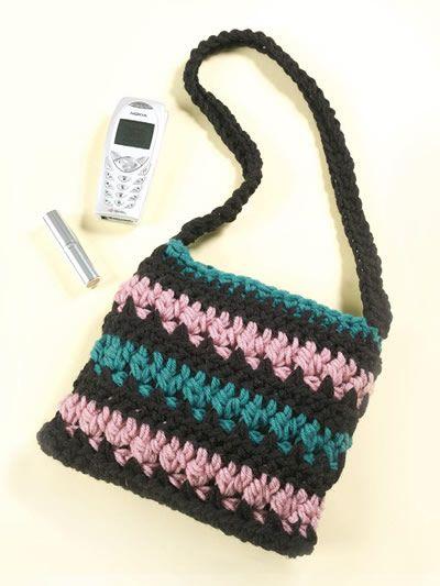 Midnight Jewels Easy Crochet Handbag Pattern Youll Love Easy