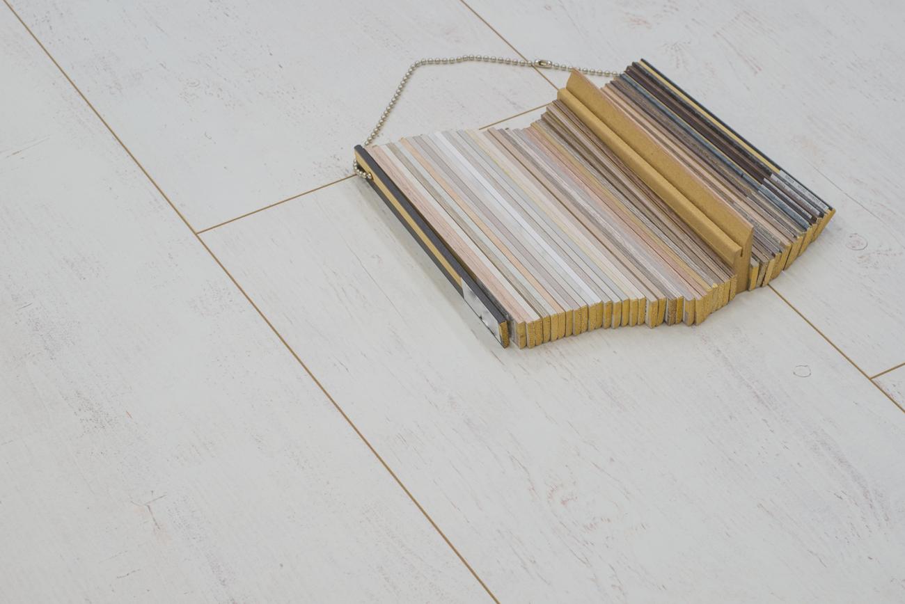 Floer landhuis laminaat vloer white wash eiken