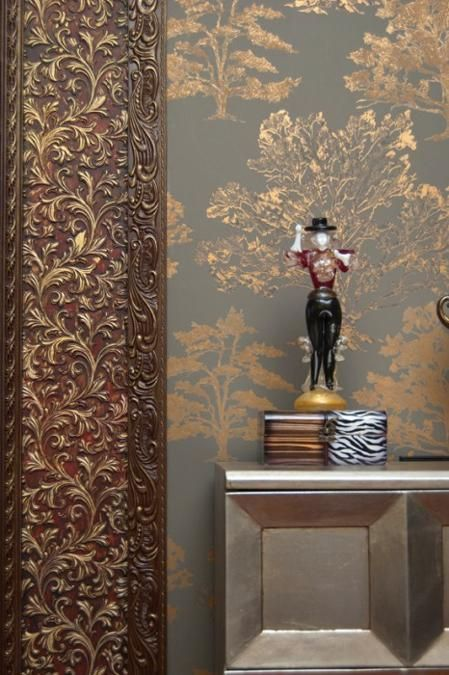 Modern Interior Design With Lincrusta Offering Versatility Of Wall Coverings And Painting Ideas