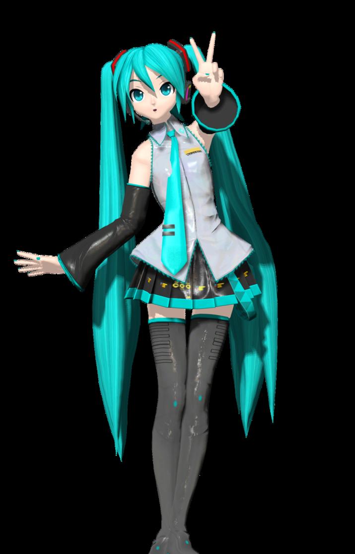 Dt Hatsune Miku Original Normal And Specular Maps Hatsune Miku Miku Miku Hatsune Vocaloid