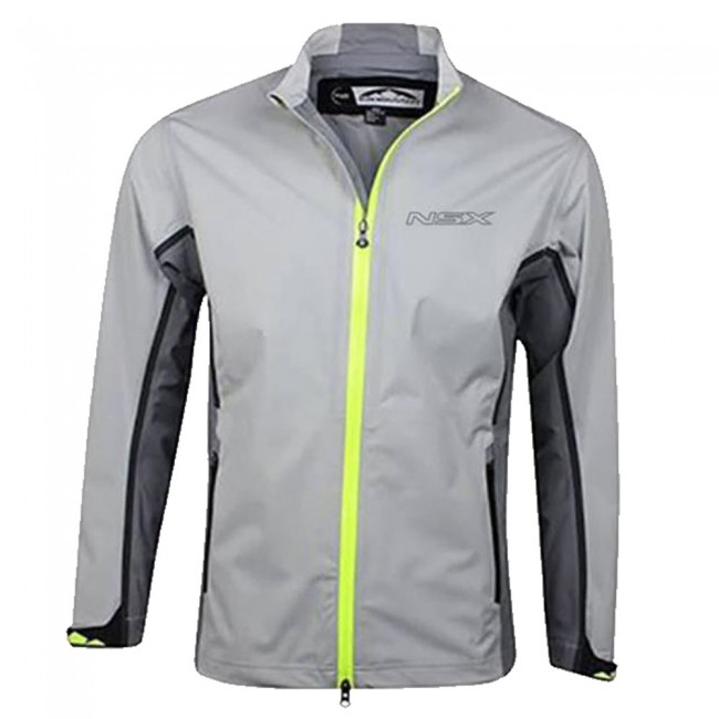 Incorporating 3-Layer Technology, The NSX Rain Jacket Has