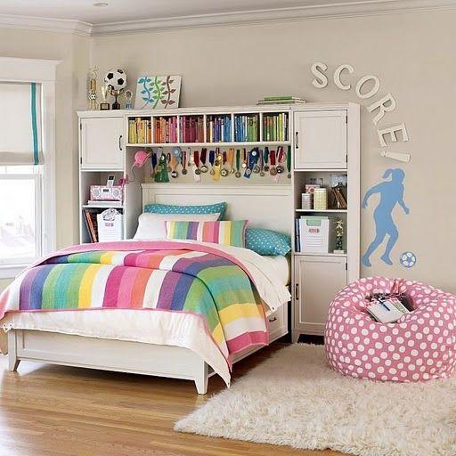 Pin de Abby Drozd en Amazing room ideas Pinterest Girls bedroom - como decorar mi cuarto