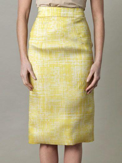 Emilia Wickstead - Margerita pencil skirt