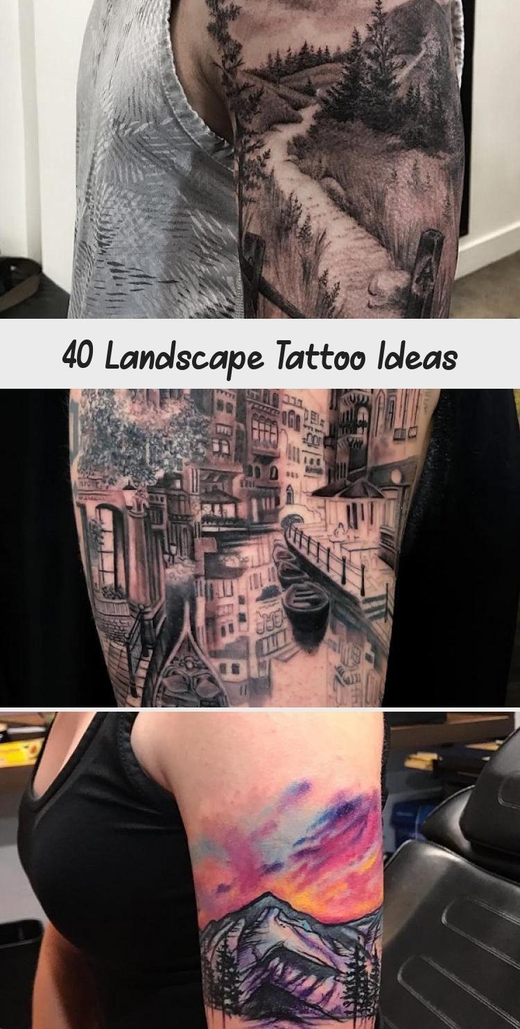 Photo of Idées de tatouage de paysage #ArtTattooPetit #ArtTattooSleeve #FineArtTattoo #ChineseA …