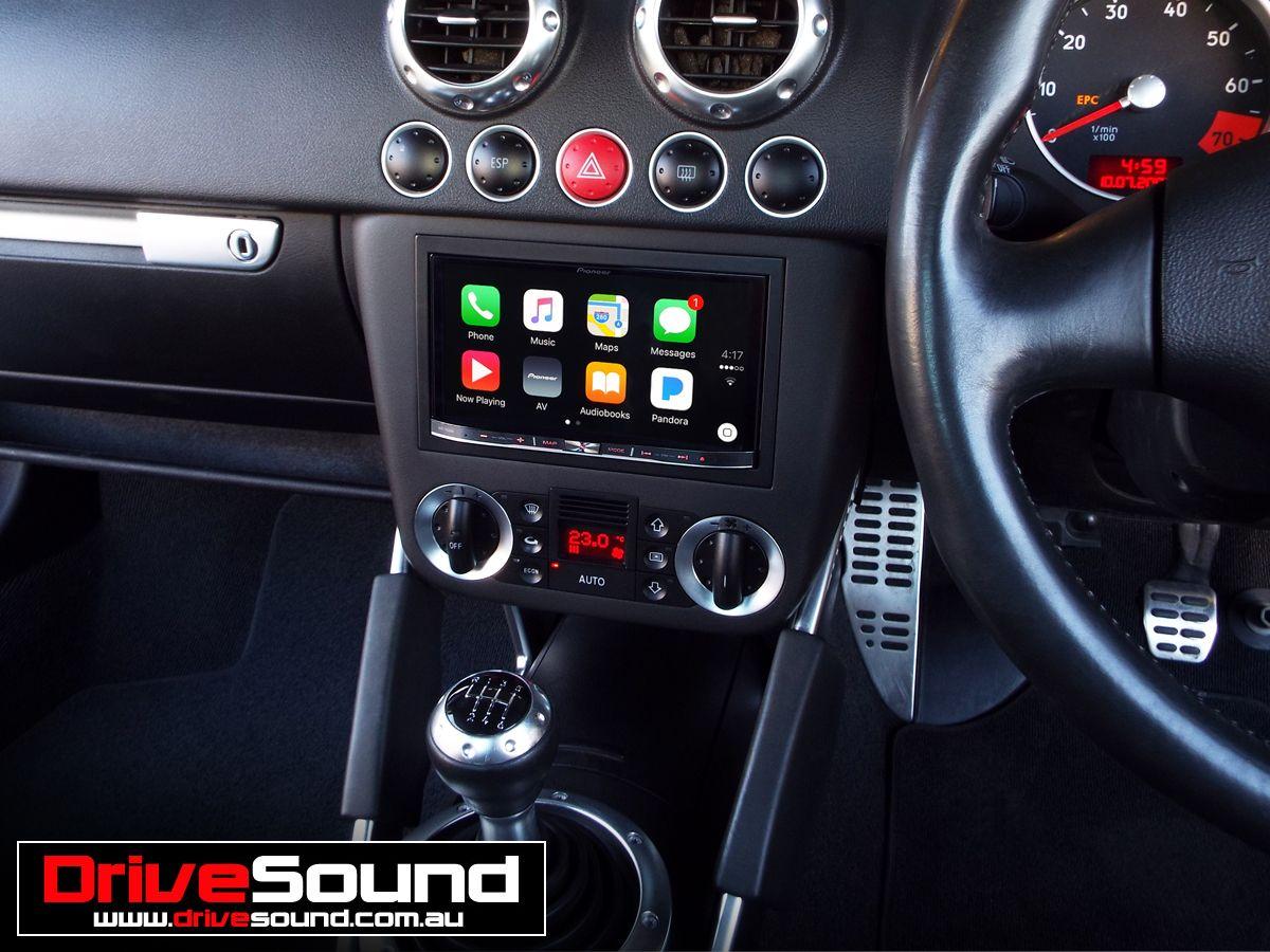 Audi Tt Mk1 With Apple Carplay Installed By Drivesound Mk1 Audi