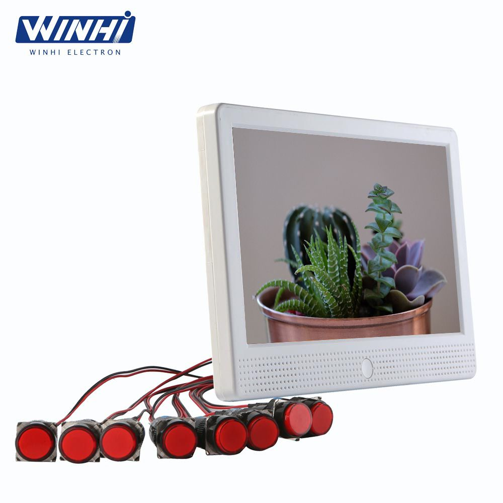 10 Inch Lcd Wall Mounted Play Panels Player Digital Signage Video Indoor Video Player Windows 7 Digital Signage Signage Video Player