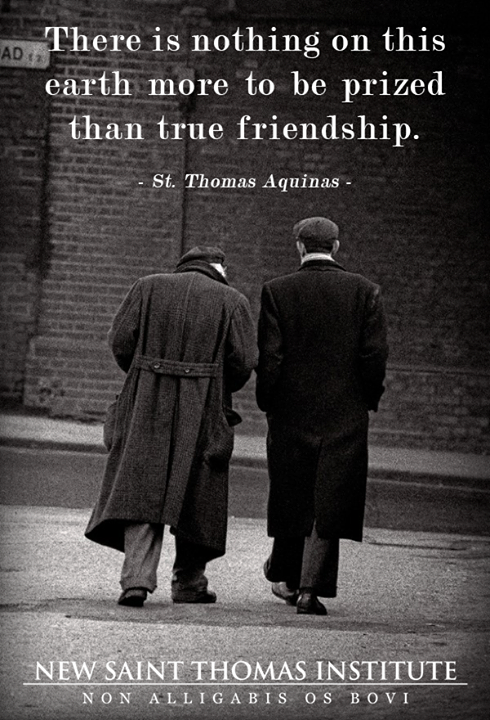 True Friendship Catholic Saint Quotes Saint Quotes Catholic