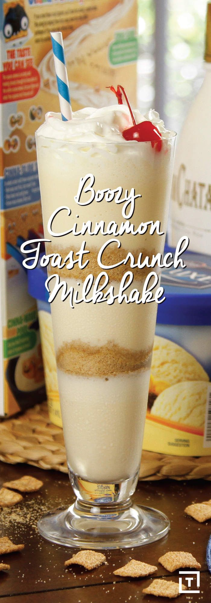 This Boozy Cinnamon Toast Crunch Milkshake Is Both Breakfast and Dessert