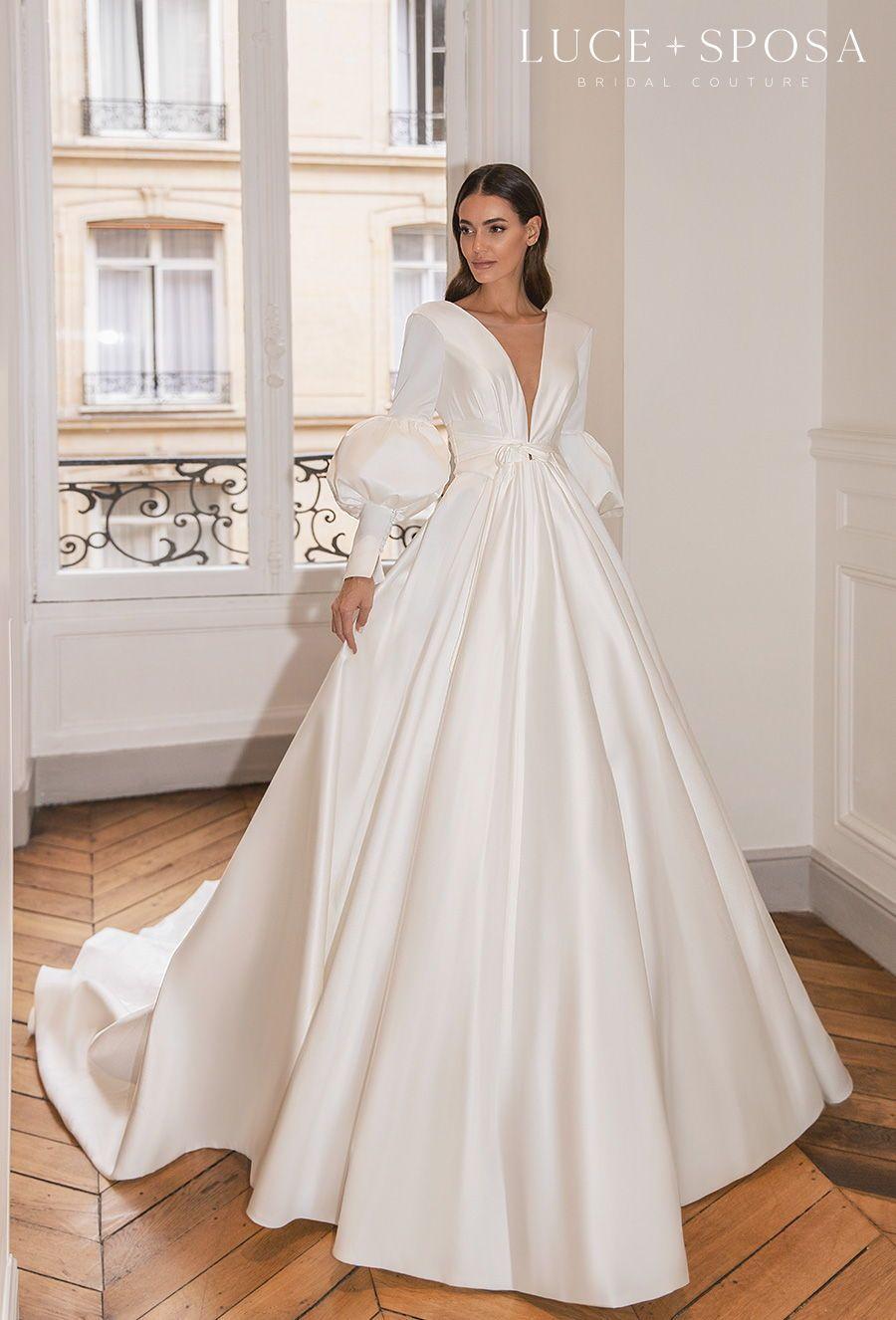 Luce Sposa Spring Summer 2021 Wedding Dresses Istanbul Paris Bridal Collections Wedding Inspirasi Wedding Dress Couture Ball Gowns Wedding Wedding Dresses [ 1326 x 900 Pixel ]