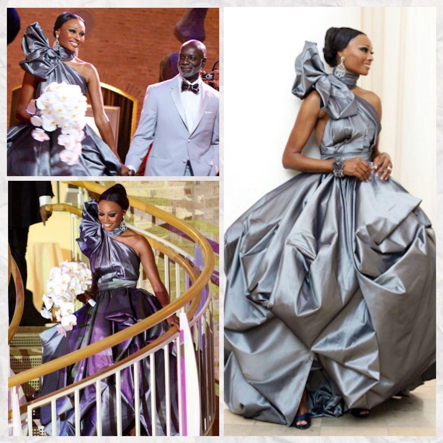 Cynthia Bailey wedding dress (With images) Couture gowns