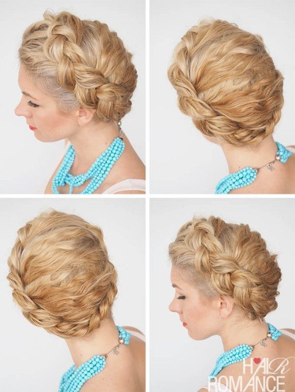 Hair Romance – 30 curly hairstyles in 30 days – Day 21 – The Dutch ring weave  #…