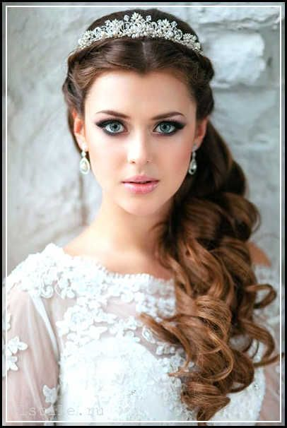 Try for Wedding Hairstyles for Round Faces or Chubby Faces? -Have ...
