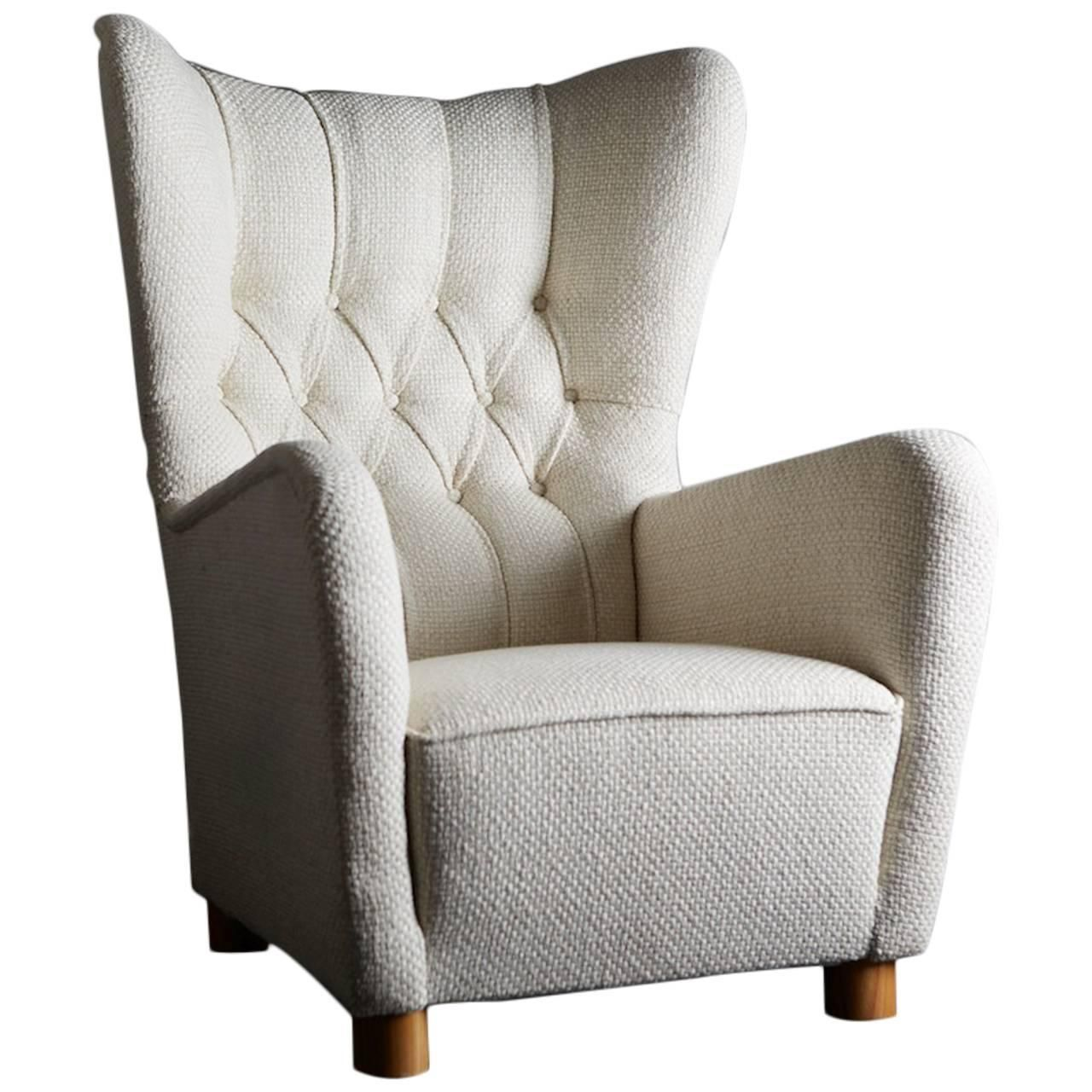wing armchair sweden circa 1940 pinterest armchairs and modern