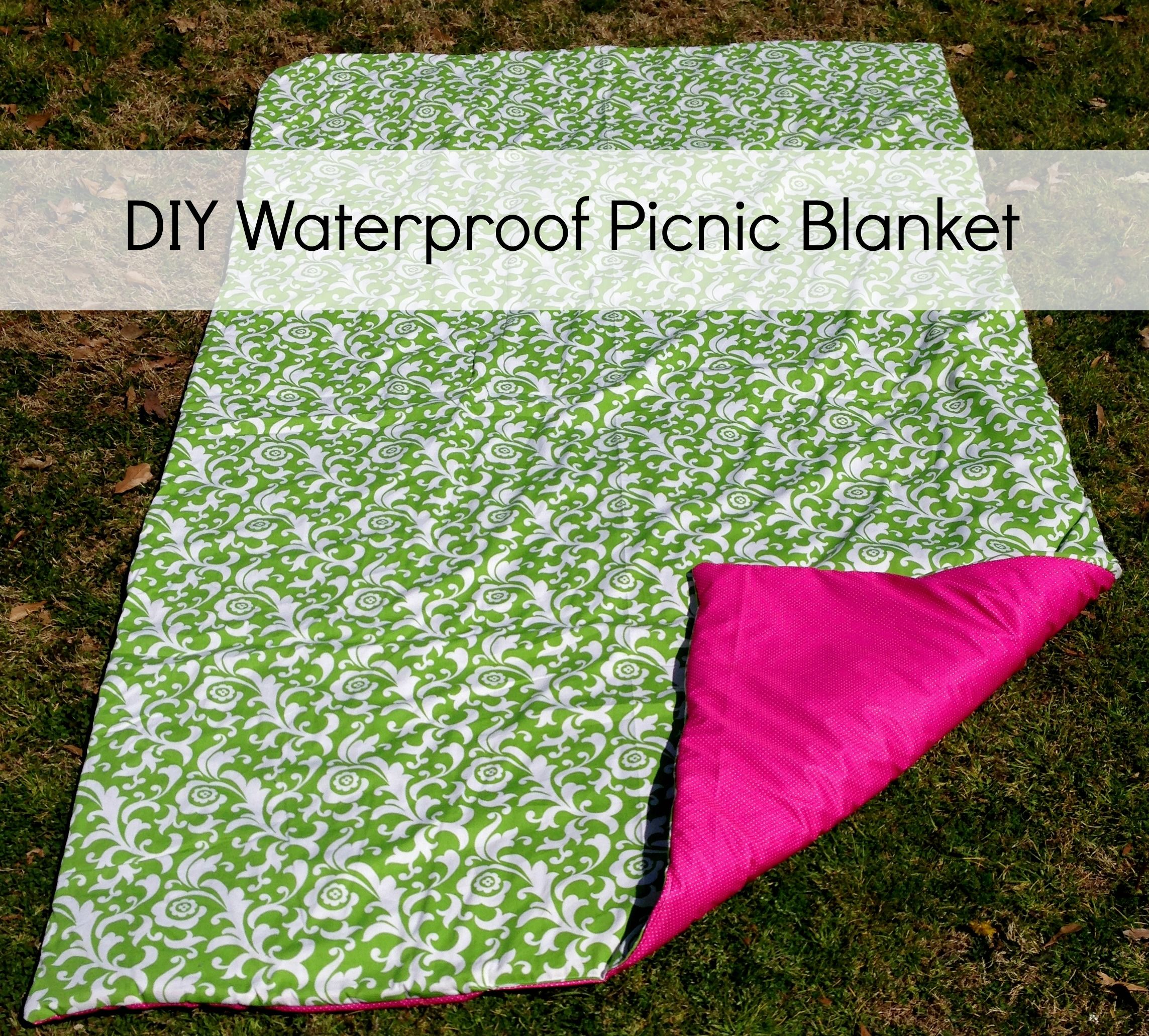 Diy Waterproof Picnic Blanket