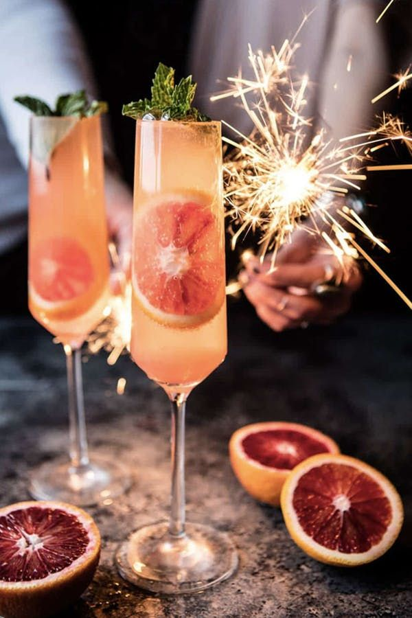 15 Festive Champagne Cocktails to Sip on New Year's Eve 15 Festive Champagne Cocktails to Sip on New Year's Eve year